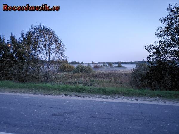 Мой отдых во Владимирской области - вечерний туман