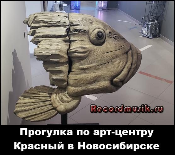 Прогулка по арт-центру Красный в Новосибирске